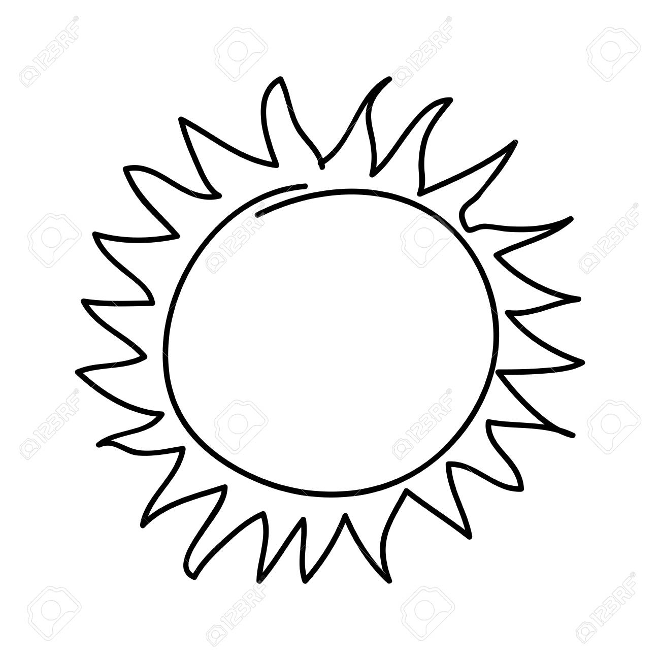 Sun Drawing Free Download Clip Art.