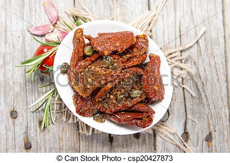 Picture of Sun dried Tomatoes.