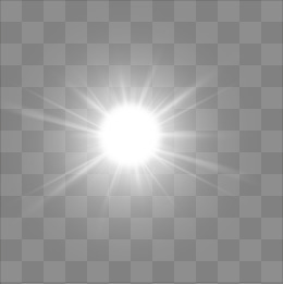 Sunlight Effect PNG Images.
