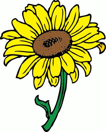 Sunflower Clip Art Free Printable.