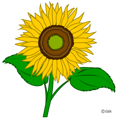 Free sunflower clipart flower clip art images and 4.