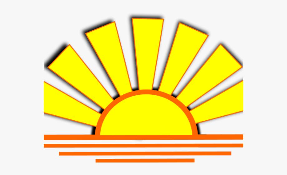 Sun Clipart Clipart Horizon.