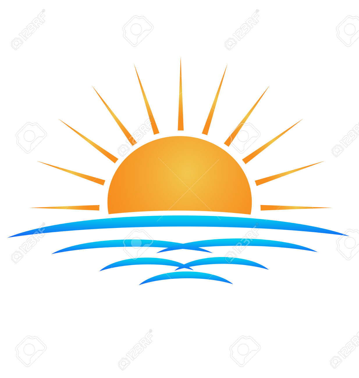 Collection of Sunlight clipart.