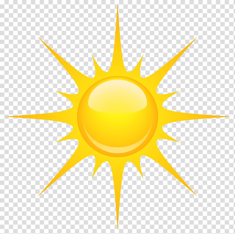 Yellow sun illustration, Landscape Landscaping , Sun.