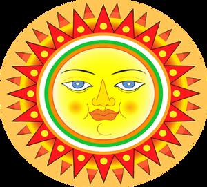 746 sun free clipart.