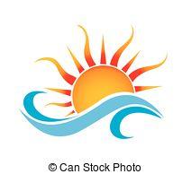 sun logo clipart - Clipground