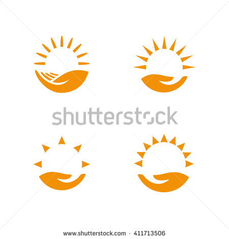 Sun Logo Stock Images, Royalty.