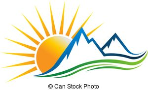 Sunshine in the mountains logo..