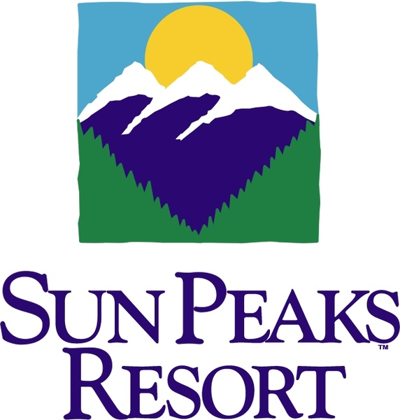 Sun peaks resort Free vector in Encapsulated PostScript eps ( .eps.
