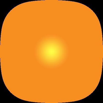 Sun Png Effect Vector, Clipart, PSD.