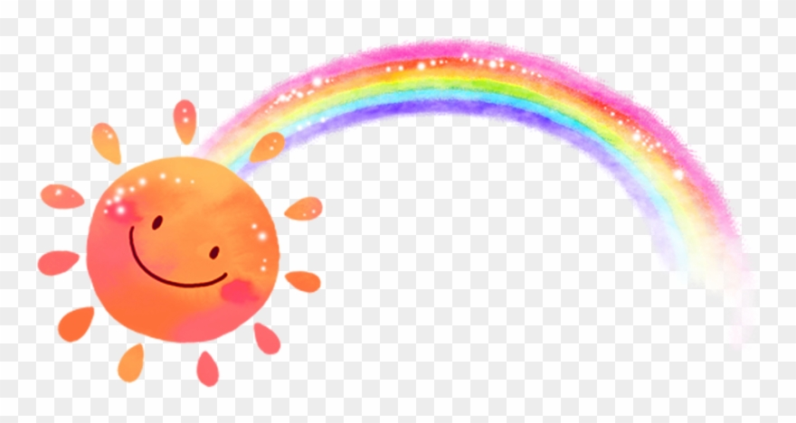 Freetoedit Sun Sunshine Rainbow.