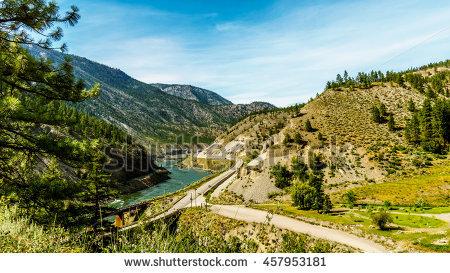 """highway_through_mountains"""" Stock Photos, Royalty."""