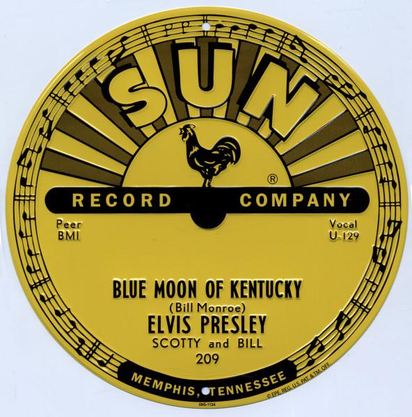 SUN RECORDS/ELVIS Blue Moon.