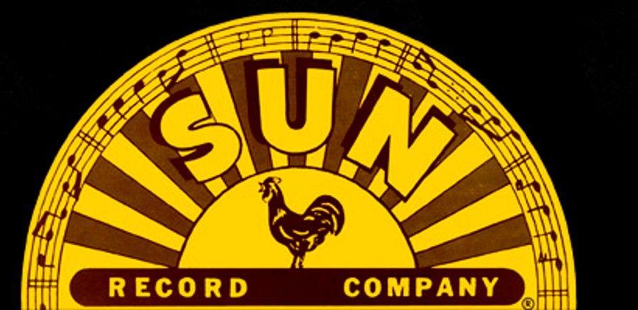 Sun Records logo.