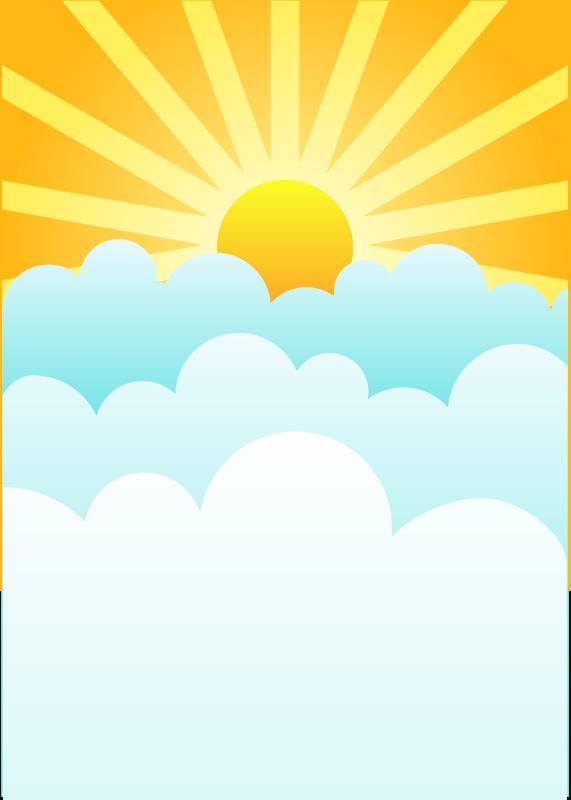 Free Clipart: Rising Sun.