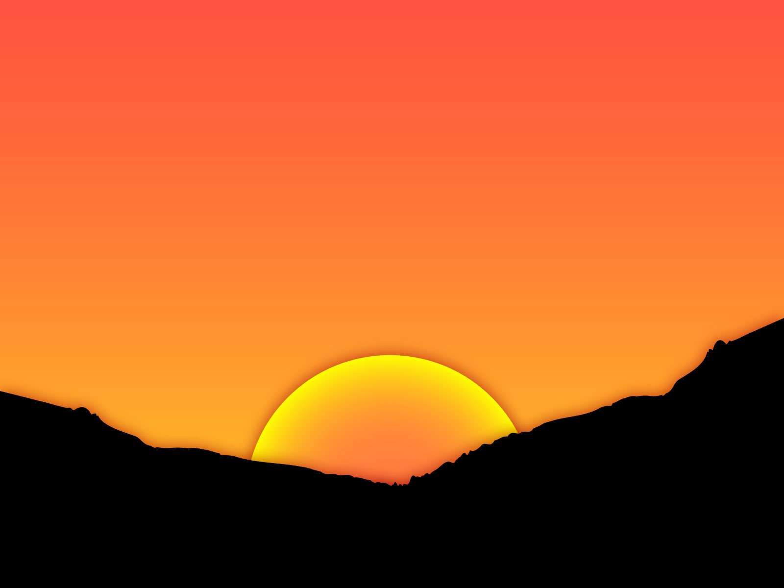 Sunset Clipart Clipground