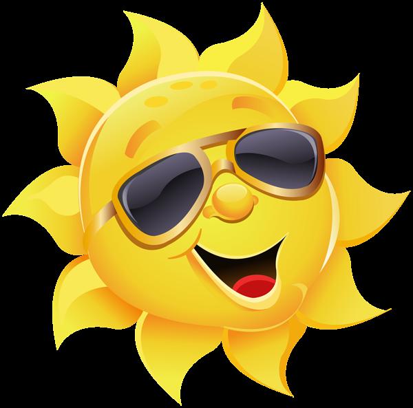 Sun with sunglasses clipart clip art clipartfox.