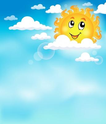 Sky And Sun Clipart.