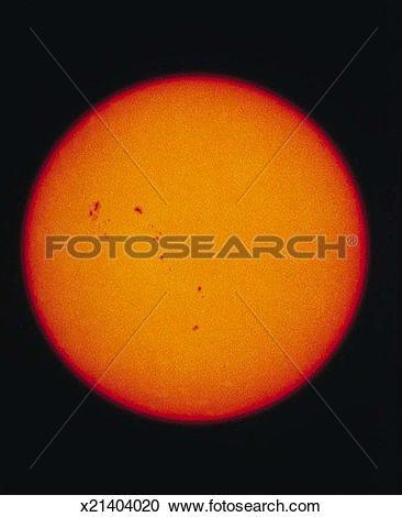 Stock Photography of Sunspots x21404020.