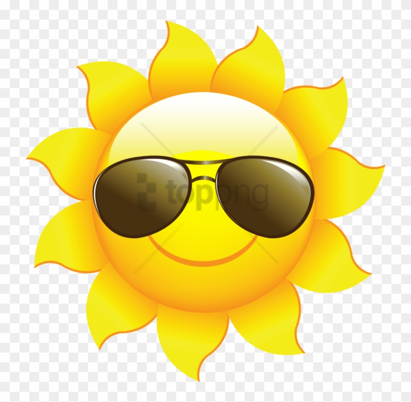 sun sunglasses clipart #6