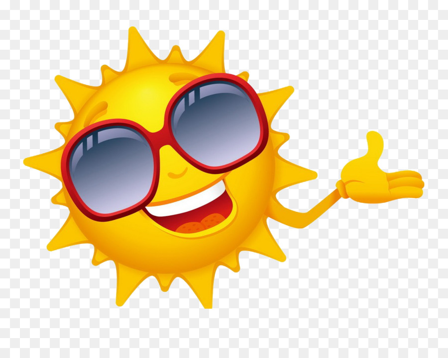 Sun With Sunglasses Png & Free Sun With Sunglasses.png.