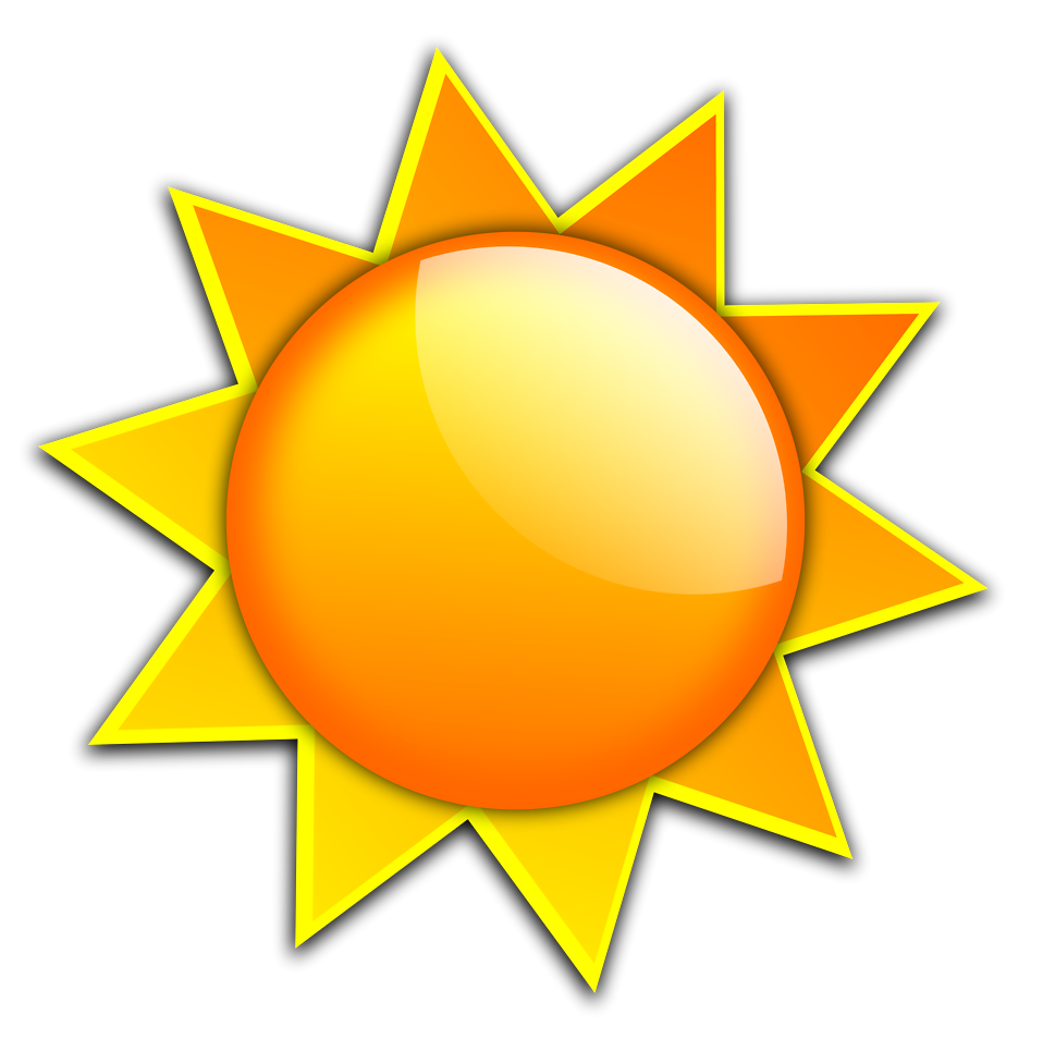 Sunny clipart transparent background.