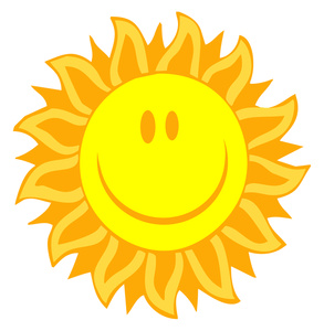 Sunny Clipart Image.
