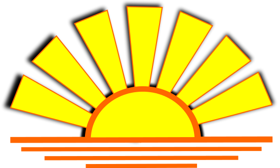 Sunset Clipart.