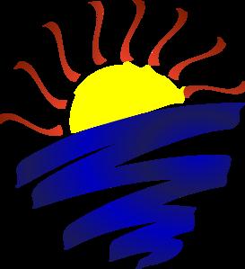 Sun Set Clip Art Sunset clip.