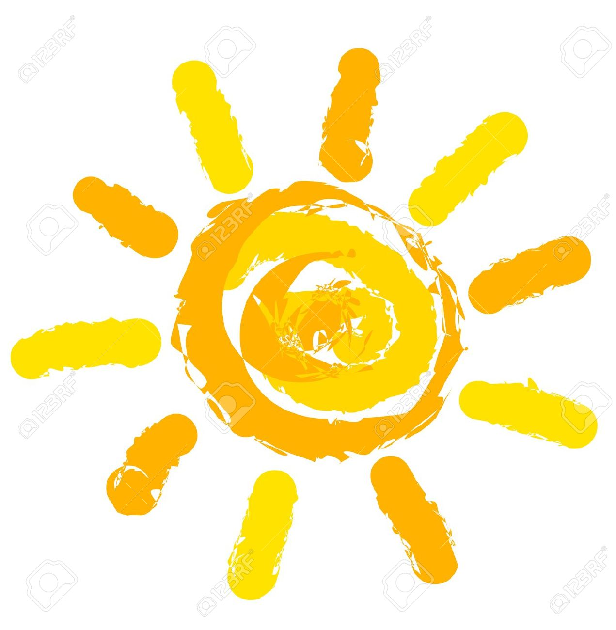 Sun Symbol Illustration Royalty Free Cliparts, Vectors, And Stock.