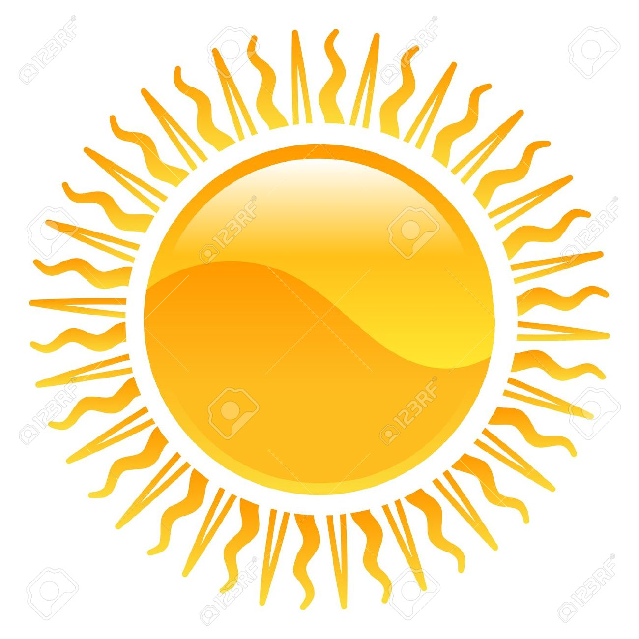 Weather Icon Clipart Sun Illustration Royalty Free Cliparts.