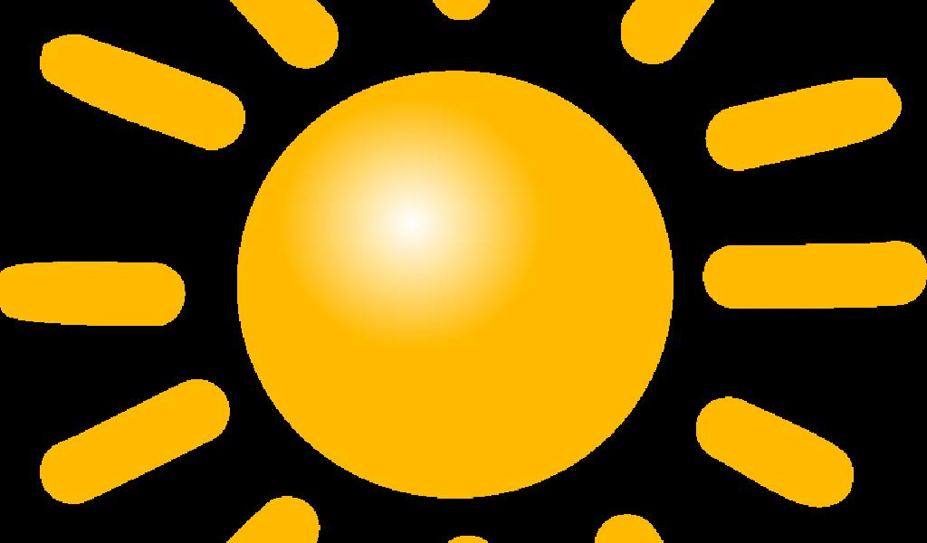 Free Sun Symbol Clip Art.