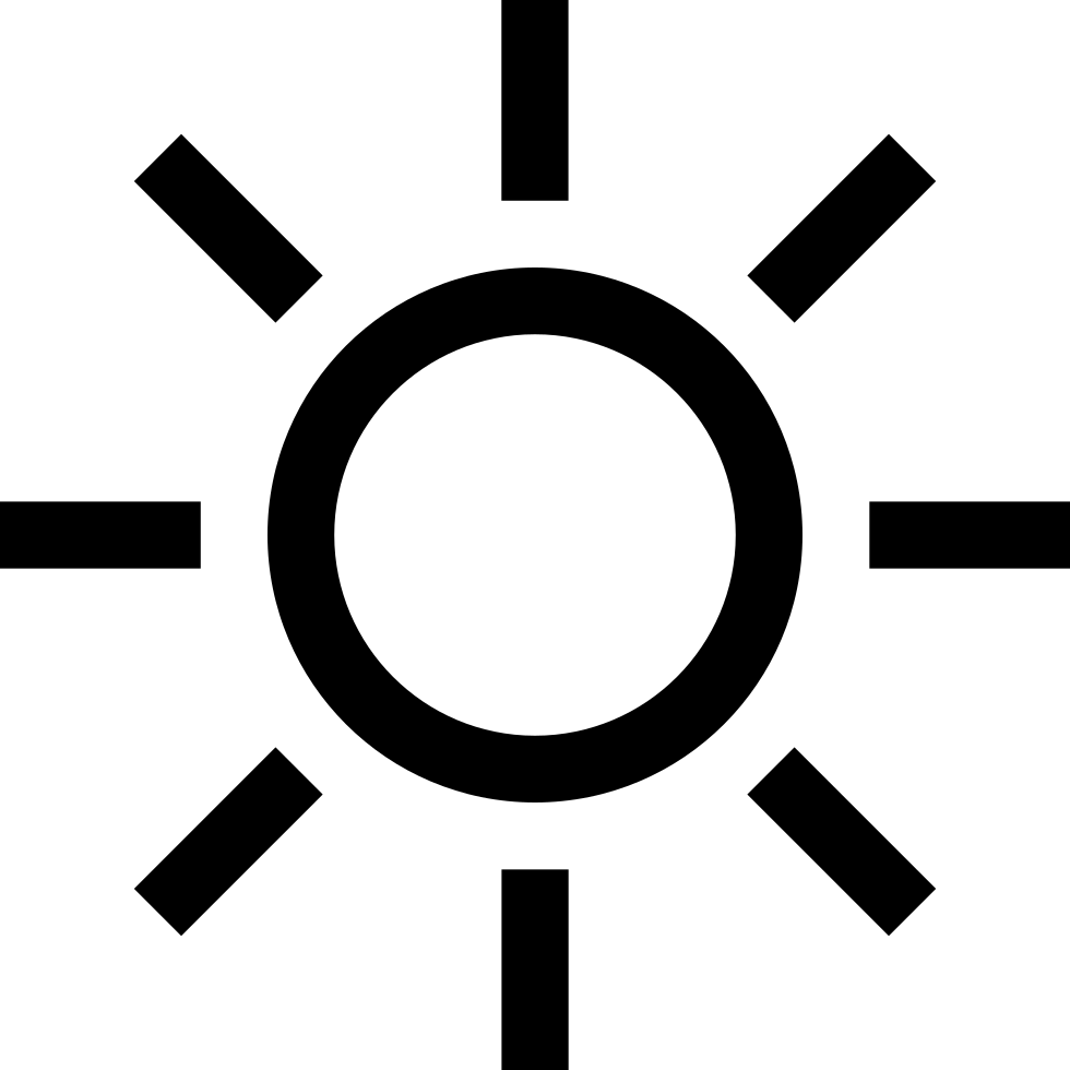 Day Sun Weather Symbol Svg Png Icon Free Download (#7103.