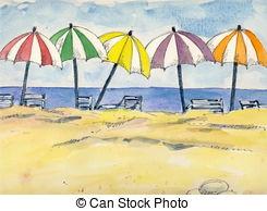 Beach umbrella Illustrations and Clipart. 10,002 Beach umbrella.