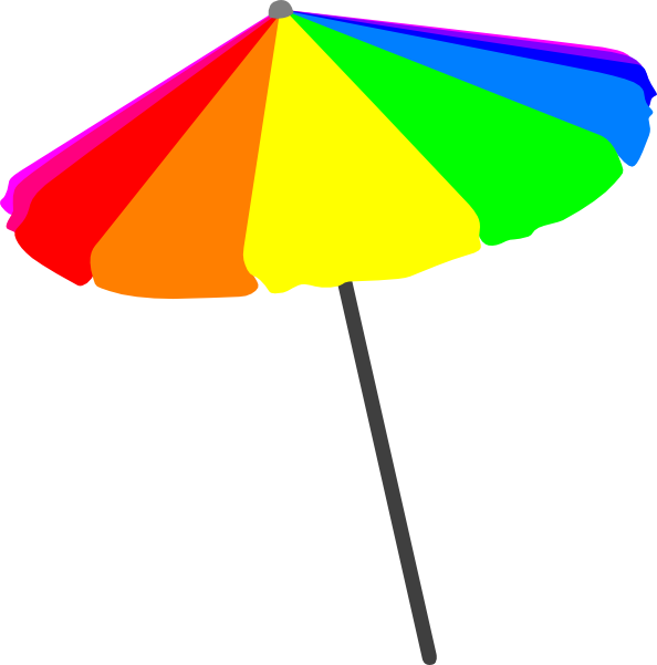 Sun Umbrella Clipart.