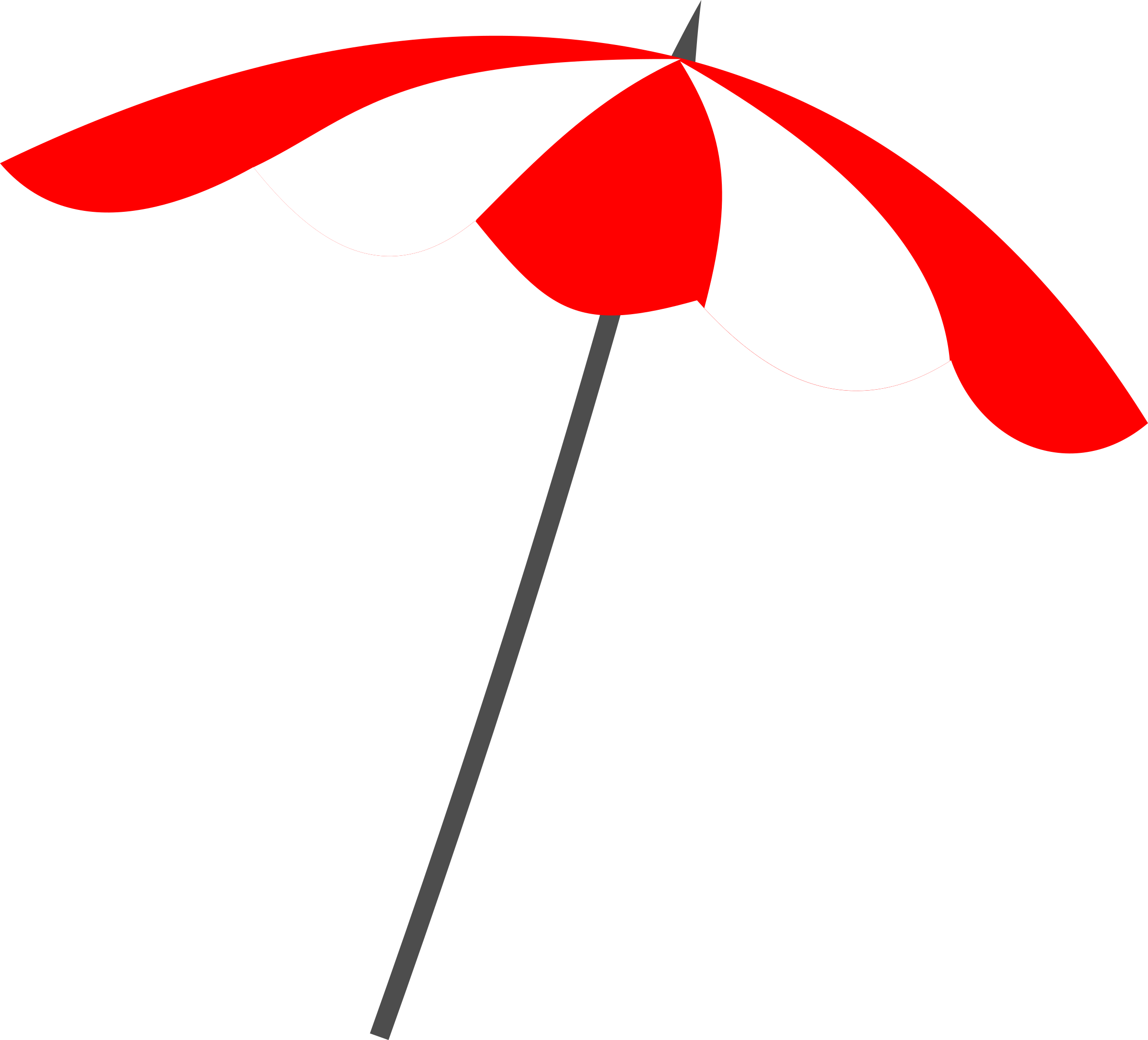 Beach umbrella clipart.