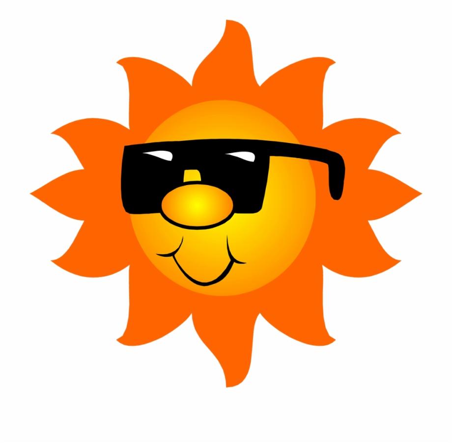 July Clipart Sun.