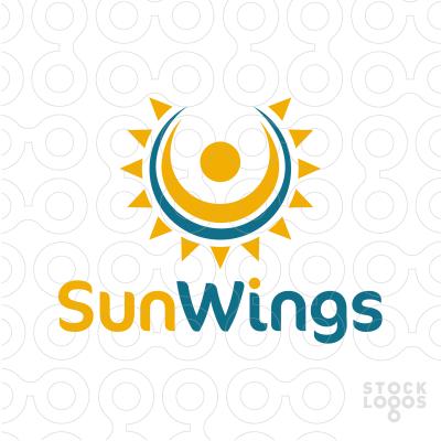 Sold Logo: Sun Wings.