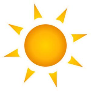 Sun With Rays Clipart.