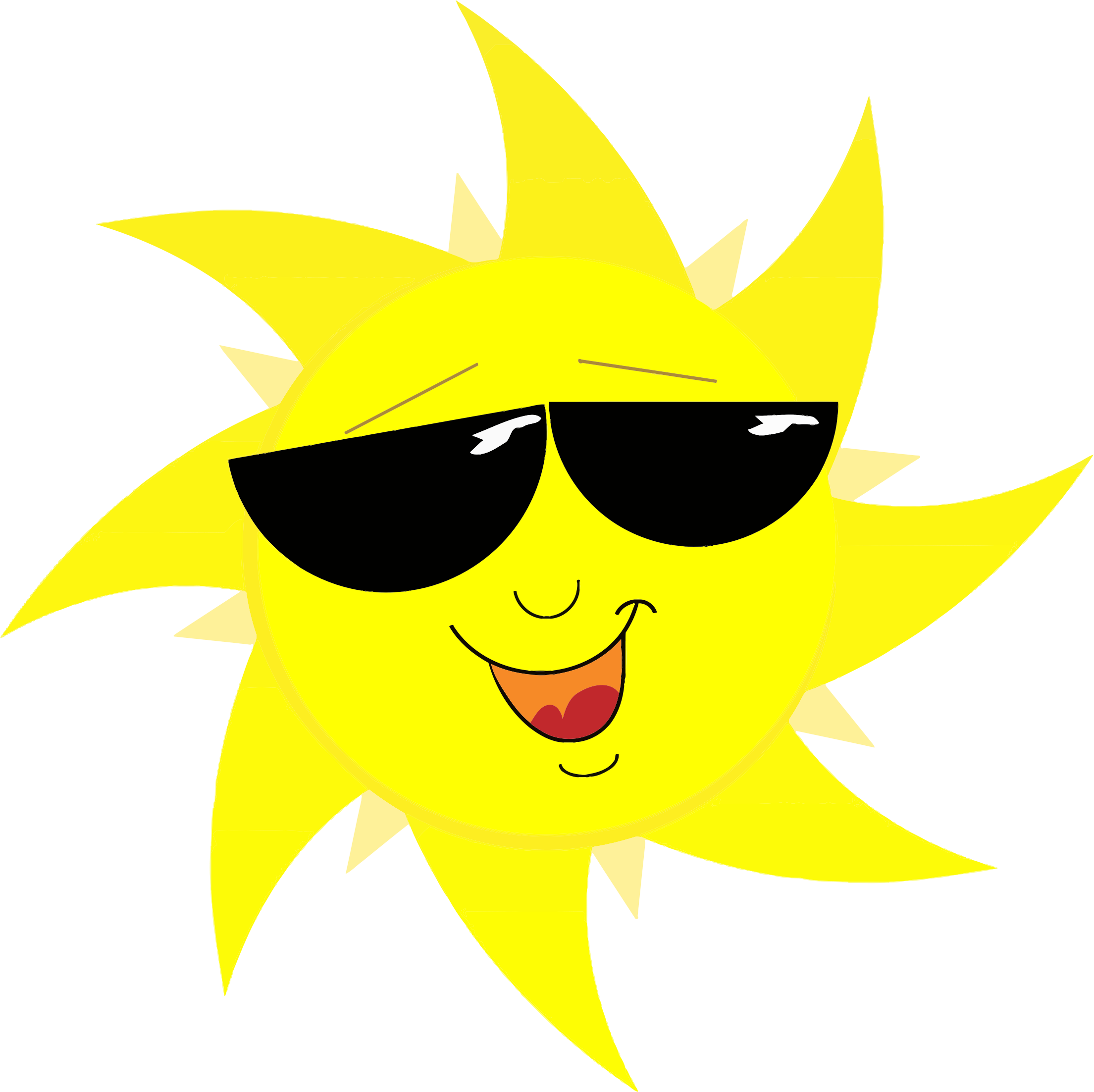 Sun With Sunglasses Clipart & Sun With Sunglasses Clip Art Images.