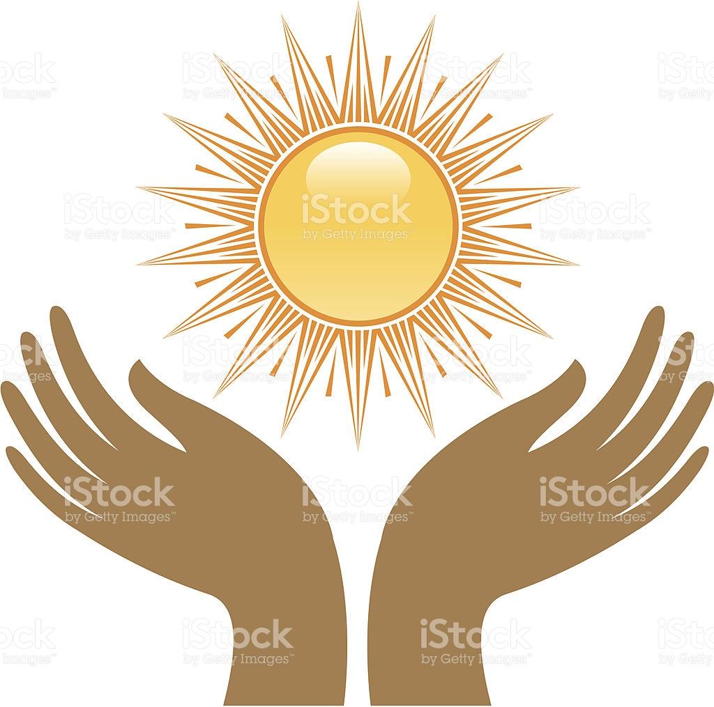 Sun Worship stock vector art 165592195.