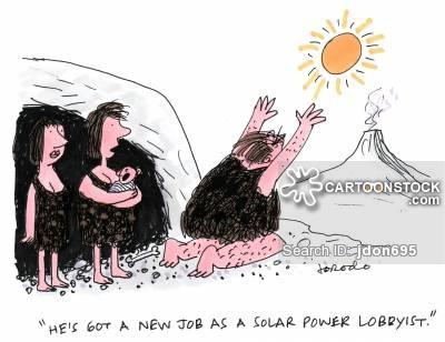 Sun Worship Cartoons and Comics.