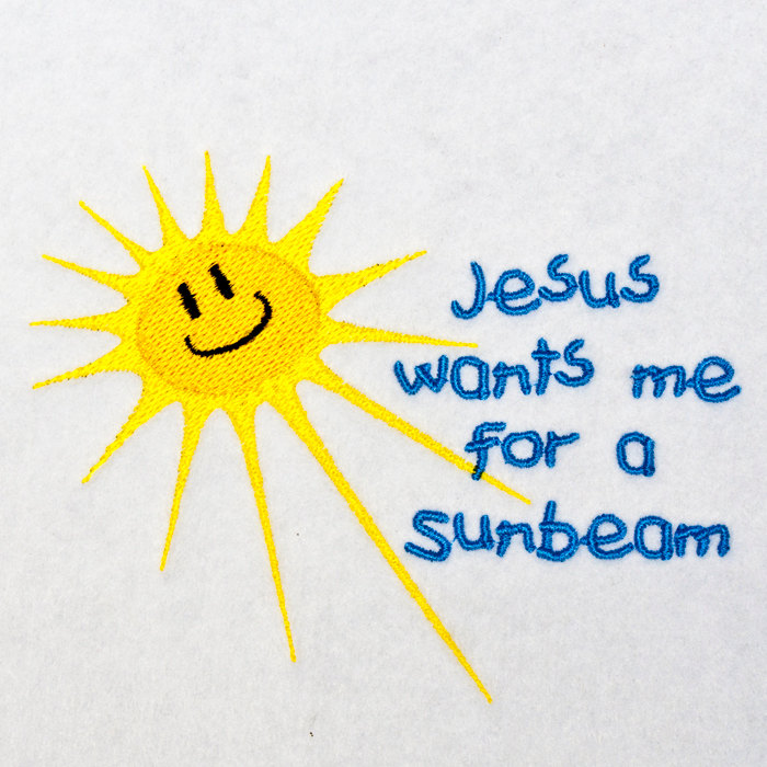 Jesus wants me for a sunbeam clipart.