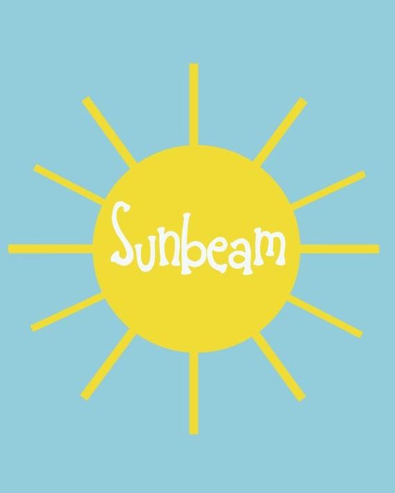 sunbeams clipart