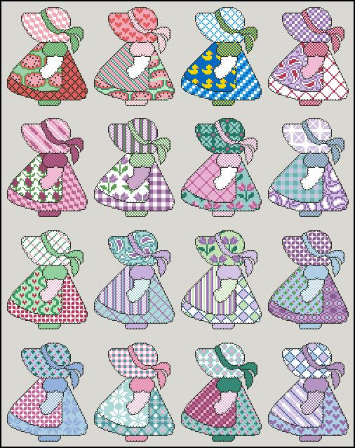 1000+ images about Sunbonnet Sue, Overall Sam on Pinterest.