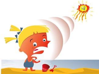 Showing post & media for Cartoon sunburn.