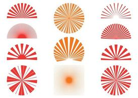 Sunburst Clip Art, Vector Sunburst.
