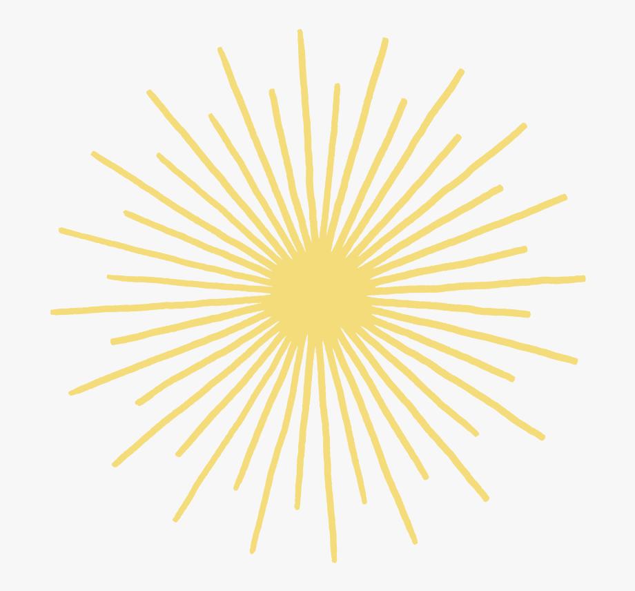 Sunburst Clipart Yellow Pattern.