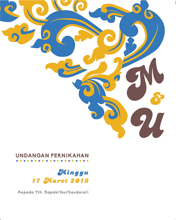 Sundanese Wedding Invitation on Behance.