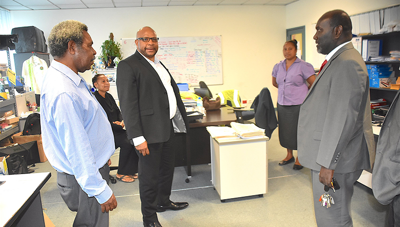 PNG depends on Customs, IRC: Lupari.